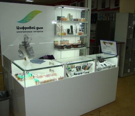 Оборудование для сети магазинов ЦИФРОВОЙ ДЫМ