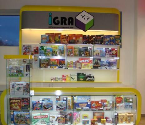 Торговый модуль для магазина IGRA 43
